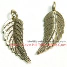 6 Leaf Charms By I Love Hill Tribe Silver