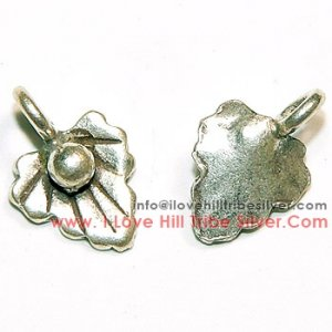 10 Leaf Charms By I Love Hill Tribe Silver