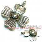 5 Small Flower Charms By I Love Hill Tribe Silver