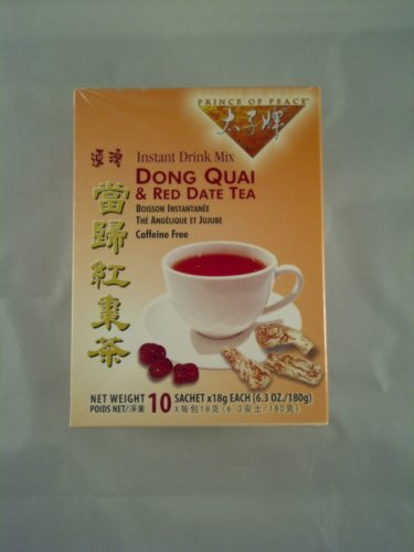 Prince of Peace Tea Dong Quai And Red Date 20 bags