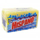 12 Bar HISPANO Laundry Soap 2 BAR Square 5.64 Oz /160 Gr
