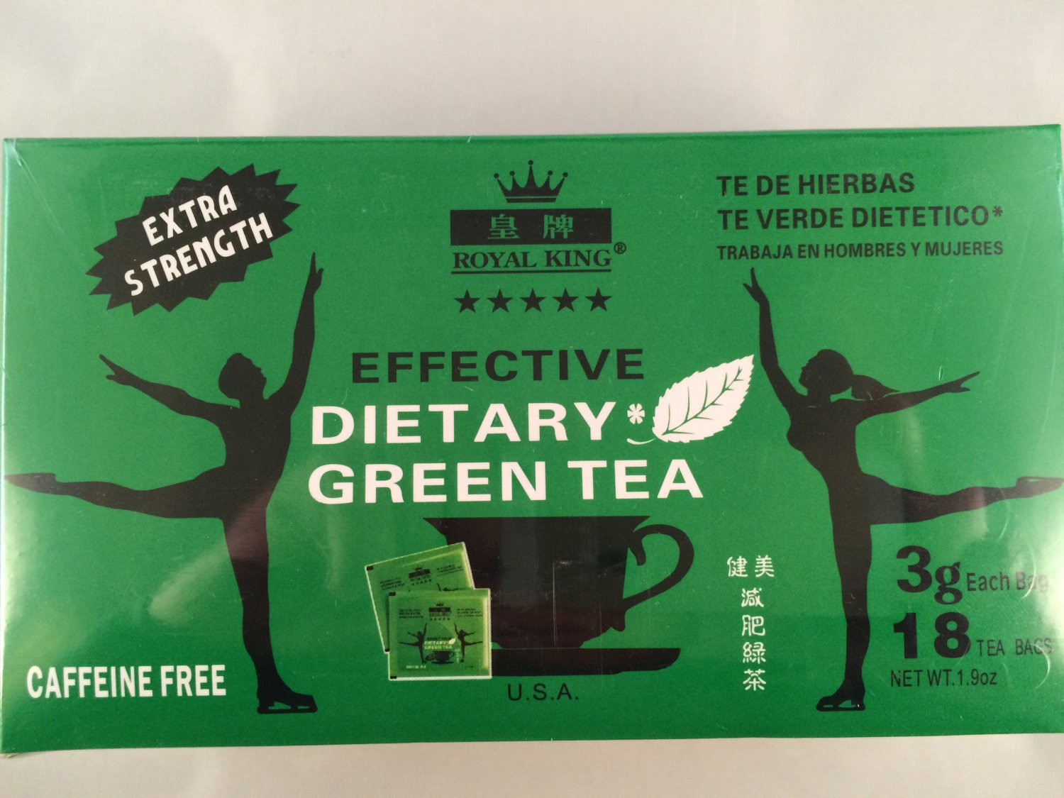 Royal King-extra Strength Effective Dietary Tea 36 Tea Bags