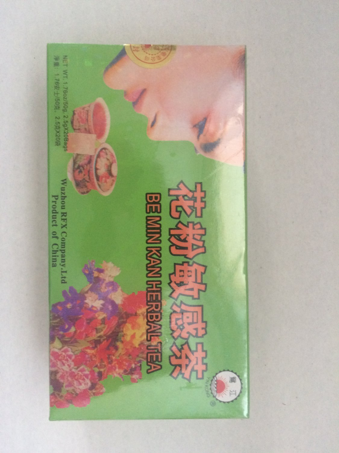 Be Min Kan Herbal Tea 20 bags
