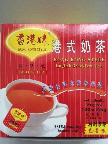 HONG KONG STYLE English Breakfast Black Tea Milk Tea(100 Tea Bags)