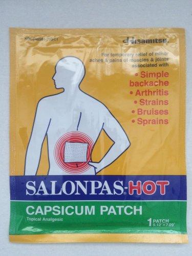 HISAMITSU Salonpas Hot Capsicum Patch, 50 Count