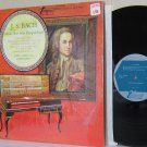 J.S. BACH JANOS SEBESTYEN LP Music For Solo Harpsichord MINT MINUS Shrinkwrap