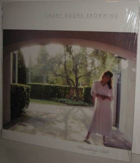 80's LAURY BOONE BROWNING Xian LP Thursday's Child  - Still FACTORY SEALED