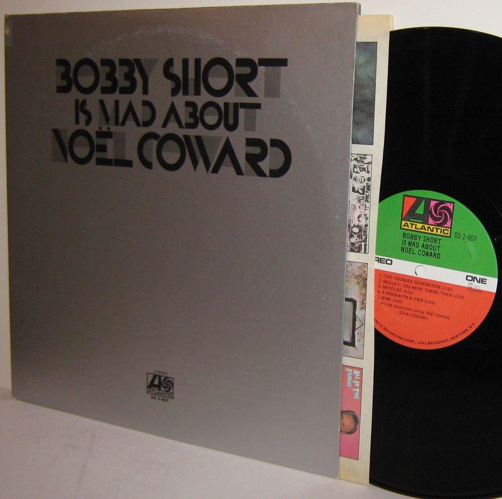 '72 BOBBY SHORT Is Mad About Noel Coward 2 LP Set Ex / MINT MINUS