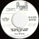 60's TONY MOTTOLA 45 The Gang That Sang PROJECT 3 WLP