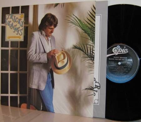 '81 RICKY SKAGGS LP Waitin' For The Sun To Shine M-