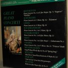 VOX BOX: GREAT PIANO CONCERTI – 4LPs Realistic 50-2006 Gold Labels