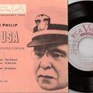 1950's JOHN PHILIP SOUSA 45 EP PS Stars And Stripes Forever RCA EPAT-402