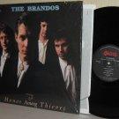'87 THE BRANDOS LP Honor Among Thieves Ex / M- in Shrinkwrap - with Gettysburg