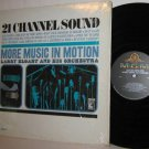 60's LARRY ELGART LP More Music In Motion - 21 Channel