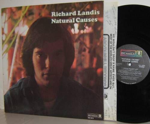'71 RICHARD LANDIS LP Natural Causes Ex/M- with Insert