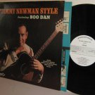 '69 JIMMY NEWMAN LP Jimmy Newman Style featuring BOO DAN -  White Label Promo