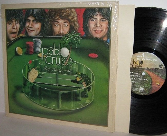 '79 PABLO CRUISE LP Part Of The Game Ex / M- in Shrinkwrap with Insert