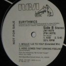 "'85 EURYTHMICS Promo 12"" Would I Lie To You Extended M-"