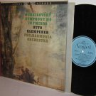 TCHAIKOVSKY Symphony No.4 F Minor LP KLEMPERER Philharmonia Orch - Angel Stereo