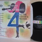 1963 Various Artists LP All-Time Country & Western Vol. 4 Ex / VG in Shrinkwrap