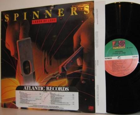 '81 SPINNERS LP Labor Of Love - Promo M- Vinyl