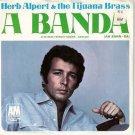 '67 HERB ALPERT TIJUANA BRASS 45 Pic Sleeve A Banda