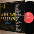 ELEKTRA Stereo Sound Effects Vol 5 re LP Mint Minus