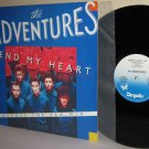 "1985 THE ADVENTURES 12"" Single Send My Heart Ex Cover Mint Minus Vinyl PROMO"