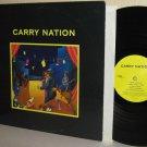 1990 CARRY NATION self-titled LP  - Ex Cover Mint Minus Vinyl
