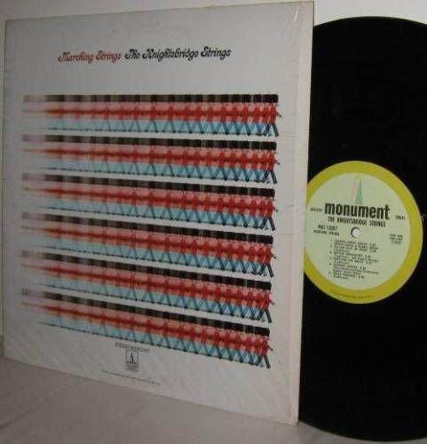 '68 KNIGHTSBRIDGE STRINGS LP Marching Strings M-/Ex