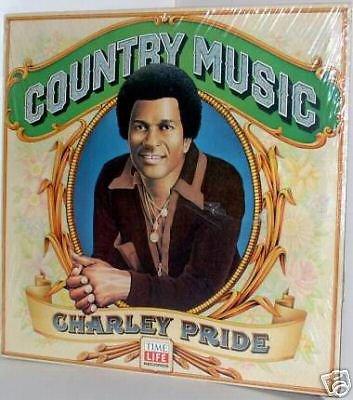 '81 CHARLEY PRIDE Time-Life LP ~Still SEALED