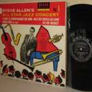 1954 STEVE ALLEN All Star Jazz Concert Vol. 1  LP Lawson-Haggart, Sylvia Sims