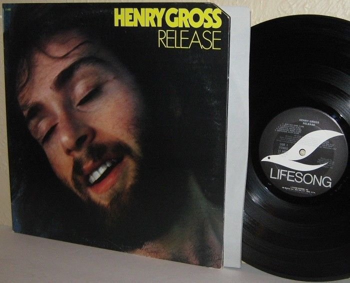 1976 HENRY GROSS LP Release with SHANNON
