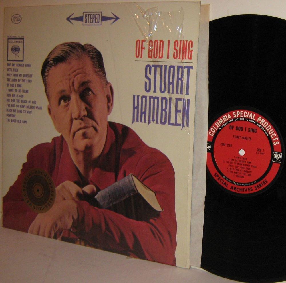 '62 STUART HAMBLEN re LP Of God I Sing M- / VG+ in Shrinkwrap Stereo