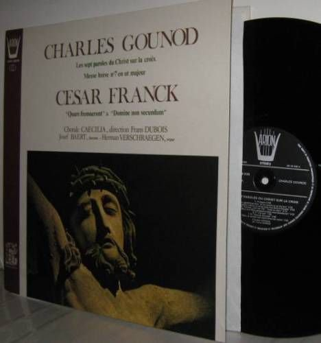 Religious Works of CHARLES GOUNOD & CESAR FRANCK LP  NM