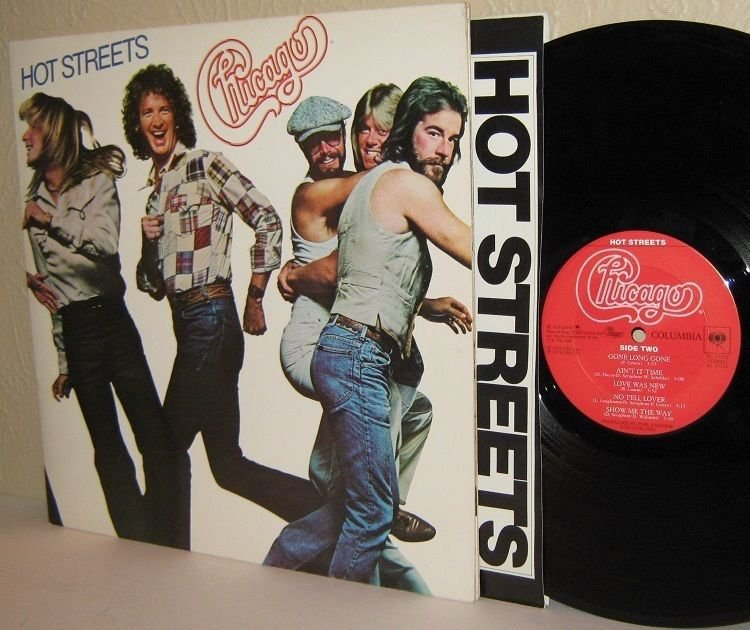 '78 CHICAGO LP Hot Streets