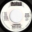 '77 MARY HYLAN WLP 45 Tomorrow - Kim Fowley Mint Minus