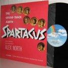 Soundtrack LP: SPARTACUS  Ex / Ex reissue