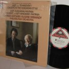 LISZT Concerto Hungarian Style Fantasias LP KATSARIS & ORMANDY Near MINT Shrink