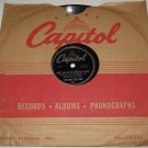 KING COLE TRIO 78 Meet Me At No Special Place / You Don't Learn That Capitol 358