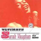 '97 Ultimate SARAH VAUGHAN CD - Verve Compilation
