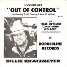 '88 BILLIE KRATZMEYER Private TX 45 PS Out Of Control