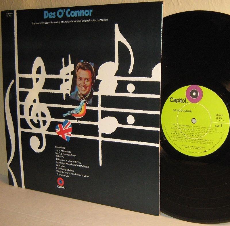 1970 DES O'CONNOR self-titled LP