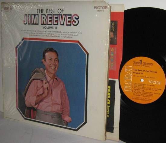 '69 Best Of JIM REEVES Vol III Ex / Mint Minus in Shrinkwrap