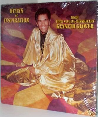 KENNETH GLOVER LP Hymns Of Inspiration ~Still SEALED