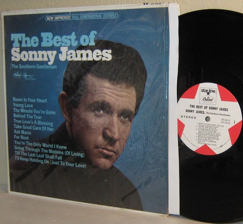 1966 Best Of SONNY JAMES LP in Shrinkwrap