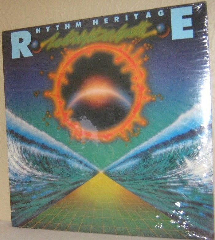 9 SEALED copies-'77 RHYTHM HERITAGE LP Last Night On Earth Rocky Theme FREE SHIP