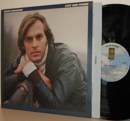 '78 KEITH CARRADINE LP Lost And Found - Ex / NM