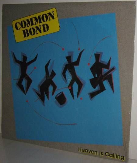 '86 COMMON BOND Xian Rock LP Heaven Is Calling  - Still FACTORY SEALED