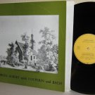 1978 German Private Label LP GEORGES AUBERT spielt COUPERIN and BACH Orgelmusik